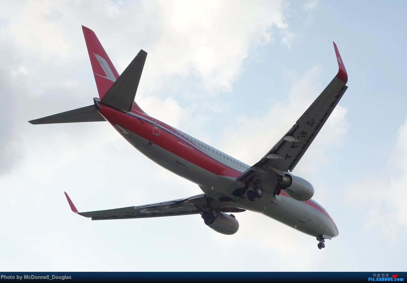 Re:[原创]【上海飞友会】ZSSS杂图一组 BOEING 737-800 B-5549 中国上海虹桥机场