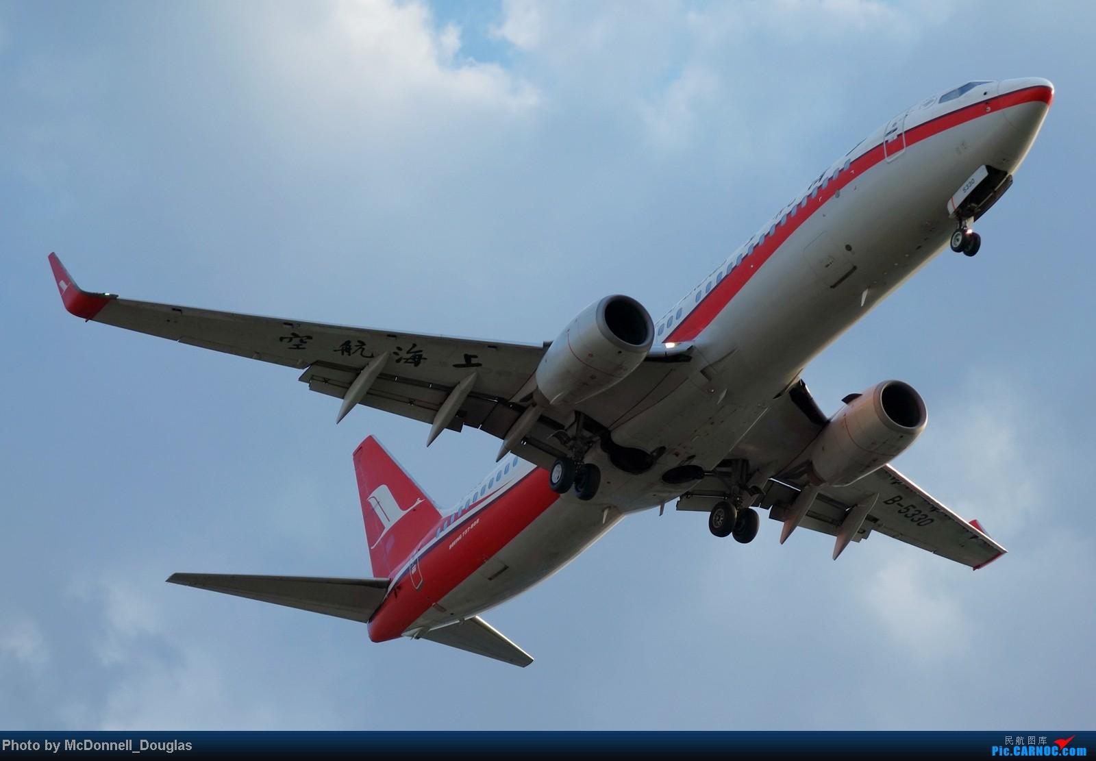 Re:[原创]【上海飞友会】ZSSS杂图一组 BOEING 737-800 B-5330 中国上海虹桥机场