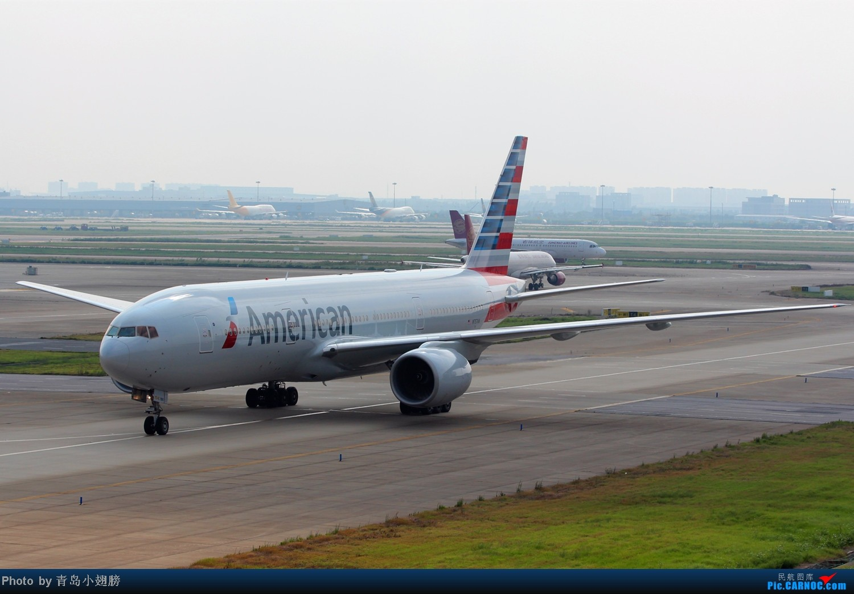 [原创]PVG拍机-各种招手和不招手 BOEING 777-200 N757AN 中国上海浦东机场