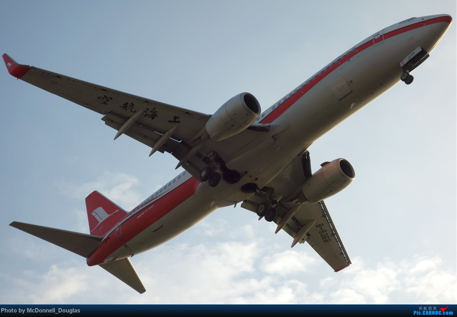 Re:[原创]【上海飞友会】ZSSS杂图一组 BOEING 737-800 B-5368 中国上海虹桥机场