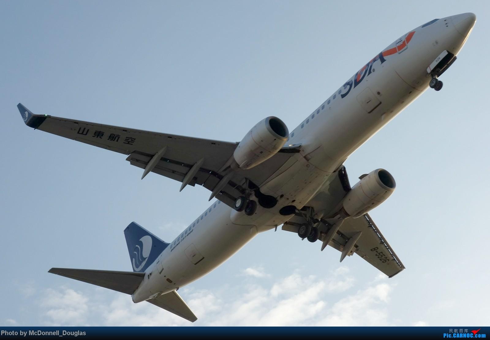 Re:[原创]【上海飞友会】ZSSS杂图一组 BOEING 737-800 B-5526 中国上海虹桥机场