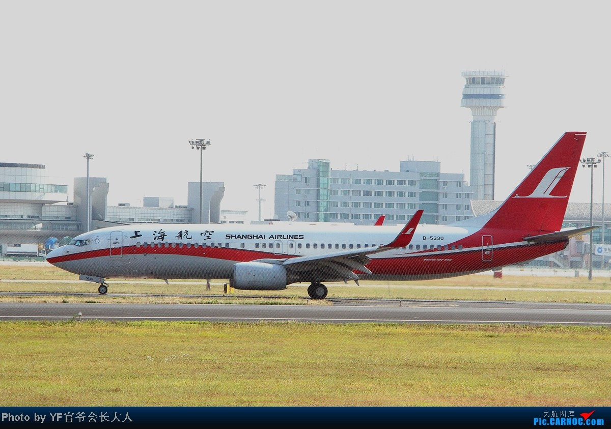 Re:[原创]10月6日一组逆光,从早上拍到下午,还是要请教一下各位高手怎样拍逆光 BOEING 737-800 B-5330 中国沈阳桃仙机场