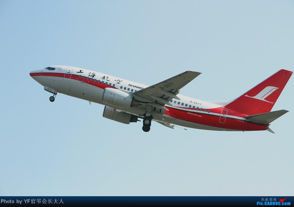 Re:[原创]10月6日一组逆光,从早上拍到下午,还是要请教一下各位高手怎样拍逆光 BOEING 737-700 B-2577 中国沈阳桃仙机场