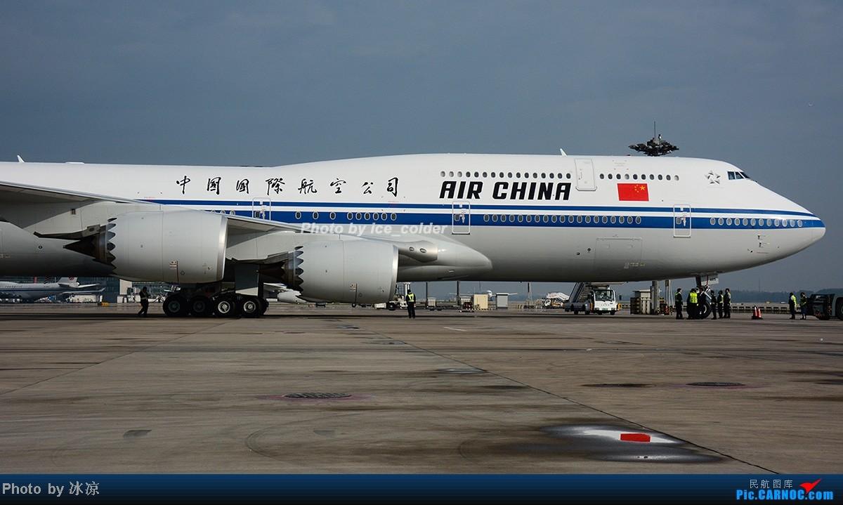 [原创]跟着图,我们好好逛逛国航新一代机皇中的第一架波音747-8i(注册号B-2485) BOEING 747-8I B-2485 中国北京首都机场