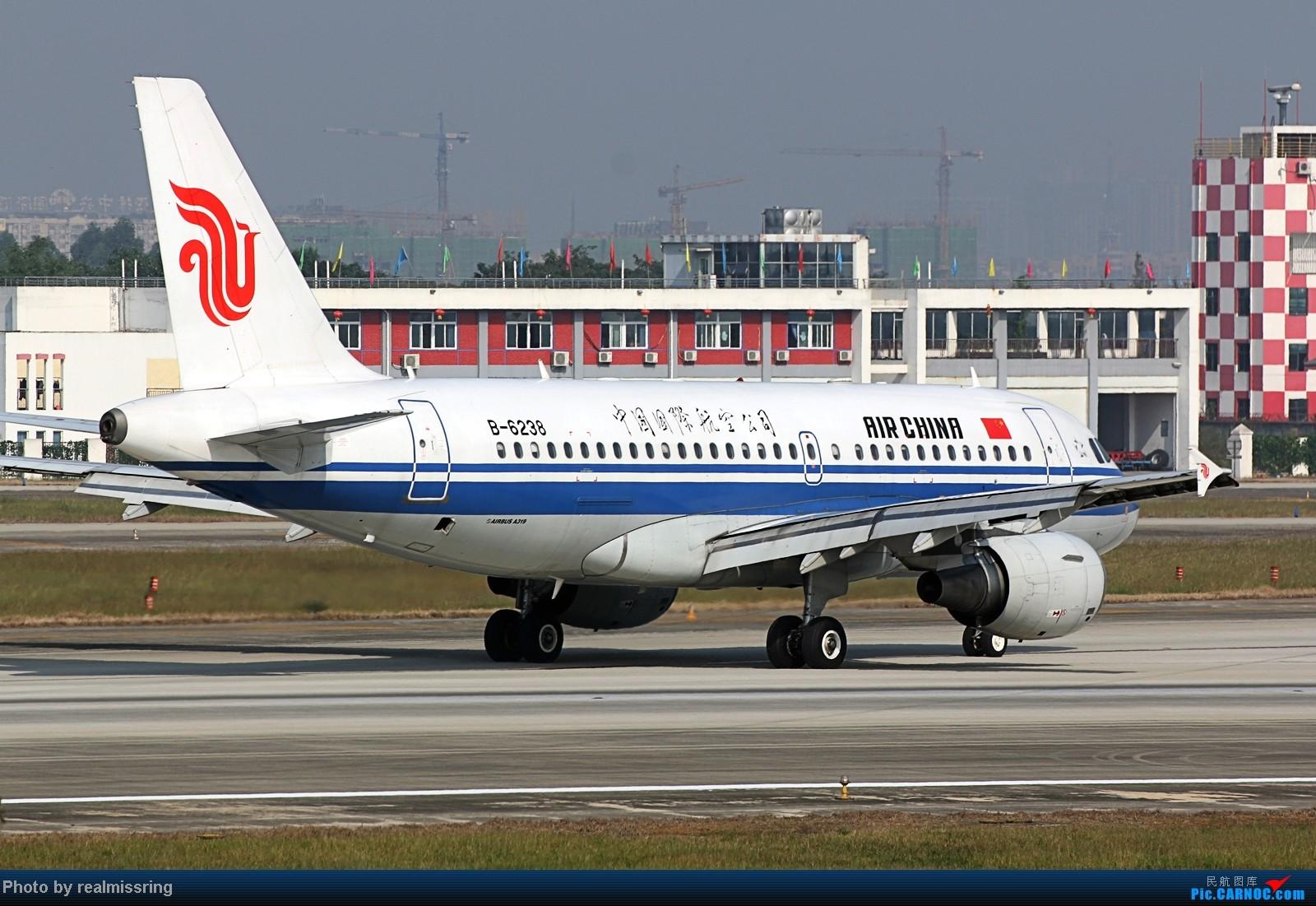 Re:[原创]CARNOC成都空港缘分-国庆6号拍机之02R(土坡和脱离点) AIRBUS A319-100 B-6238 中国成都双流机场