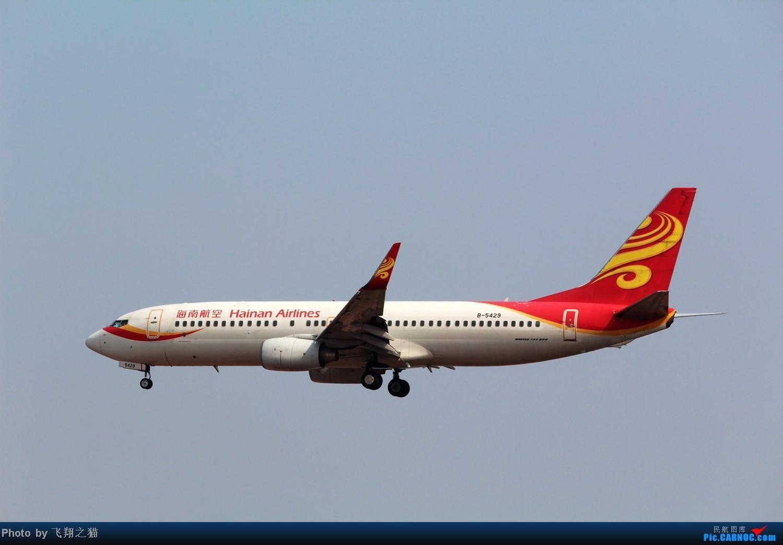 Re:[原创]CKG拍机(02下滑道拍机杂图一大堆) BOEING 737-800 B-5429 重庆江北国际机场