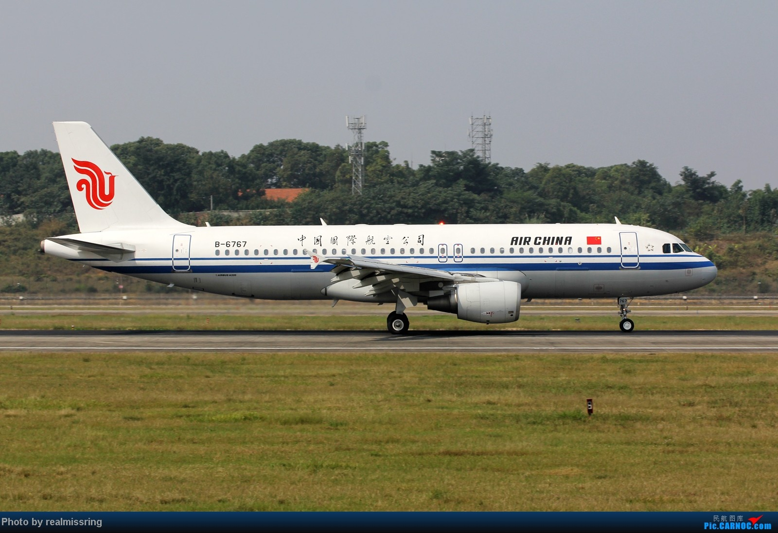 Re:[原创]CARNOC成都空港缘分-国庆6号拍机之02R(小树林) AIRBUS A320-200 B-6767 中国成都双流机场