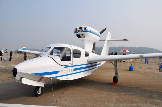 Re:[转贴]通航飞机汇总 SHIFEI 海鸥300