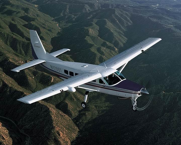 Re:[转贴]通航飞机汇总 CESSNA 208A CARAVAN 675