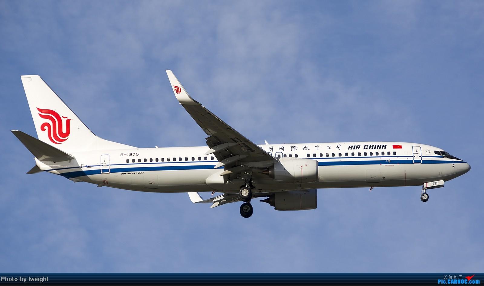 Re:[原创]终于盼来了晴天,PEK拍起【10月26日】 BOEING 737-800 B-1975 中国北京首都机场