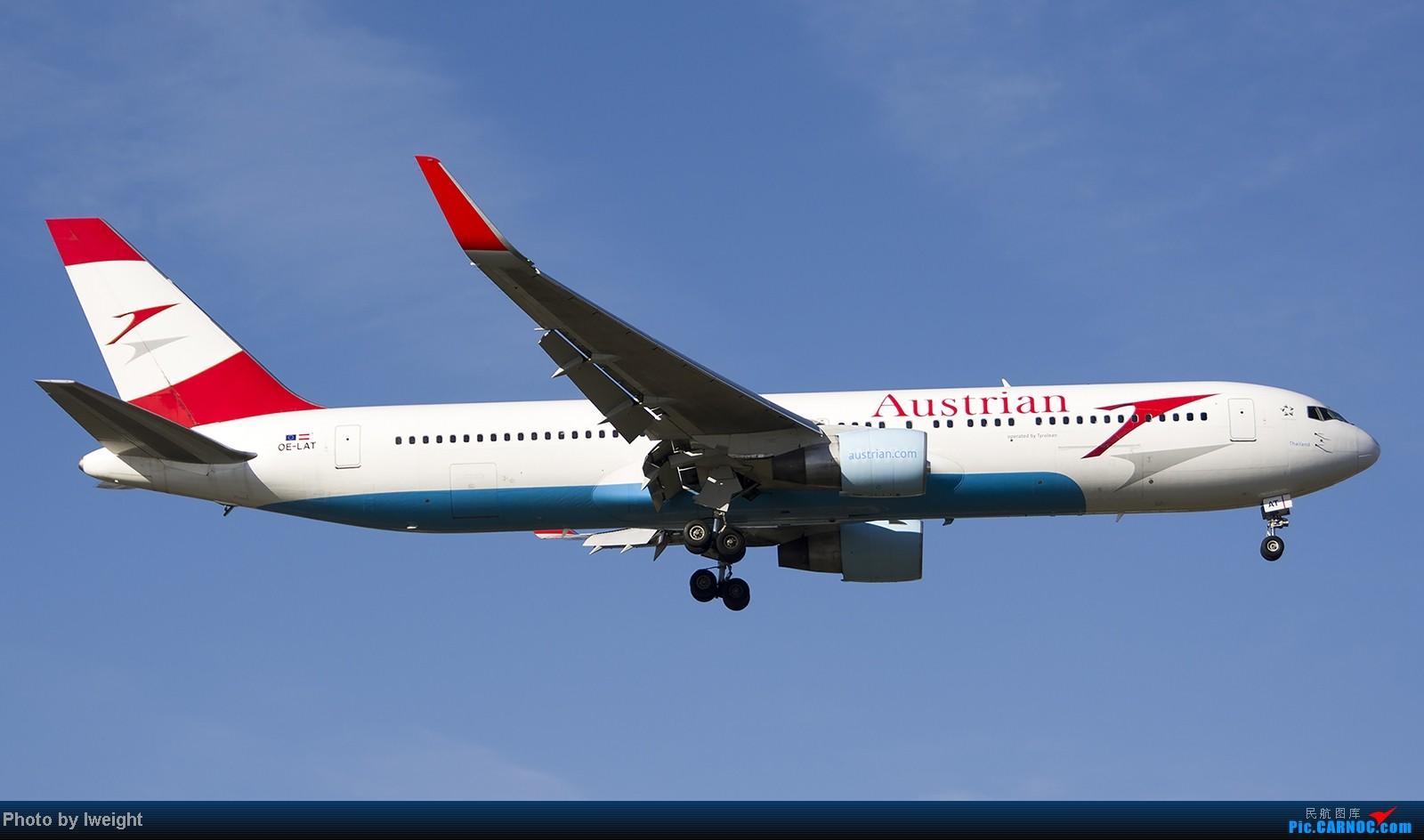 Re:[原创]终于盼来了晴天,PEK拍起【10月26日】 BOEING 767-300ER OE-LAT 中国北京首都机场