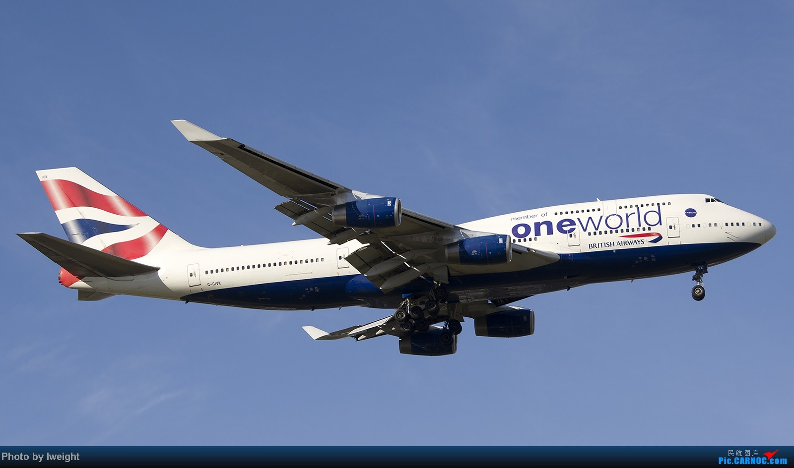 Re:[原创]终于盼来了晴天,PEK拍起【10月26日】 BOEING 747-400 G-CIVK 中国北京首都机场