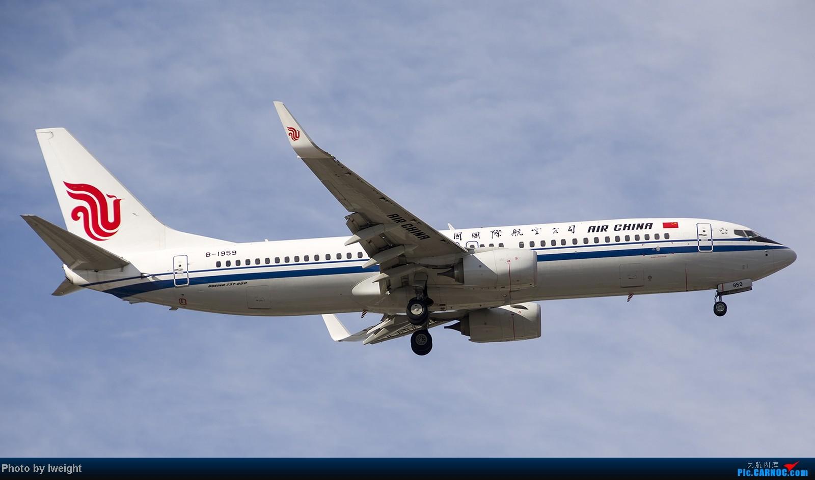 Re:[原创]终于盼来了晴天,PEK拍起【10月26日】 BOEING 737-800 B-1959 中国北京首都机场