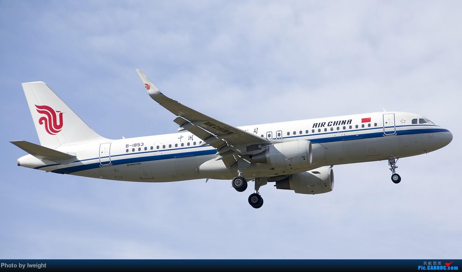 Re:[原创]终于盼来了晴天,PEK拍起【10月26日】 AIRBUS A320-200 B-1853 中国北京首都机场