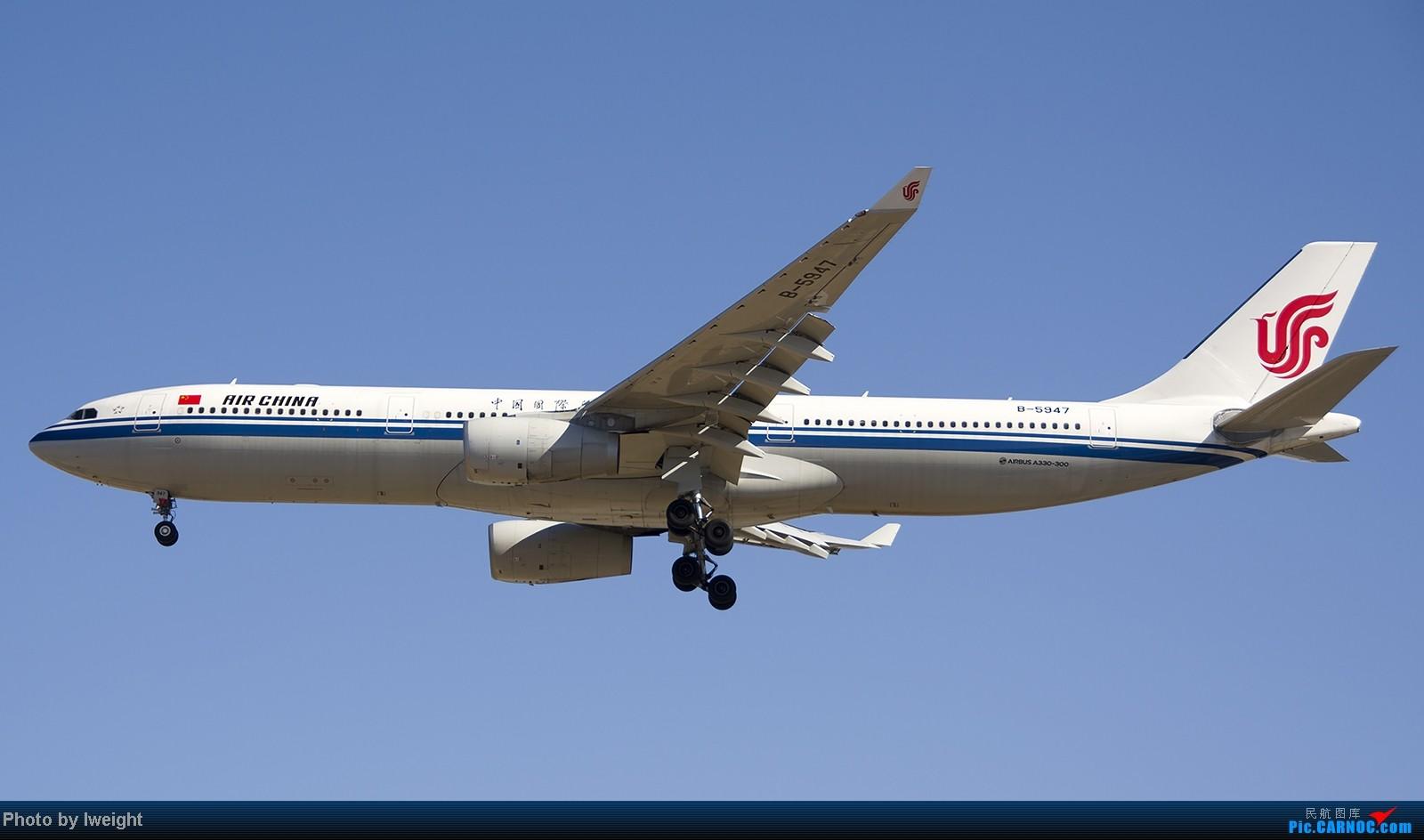 Re:[原创]终于盼来了晴天,PEK拍起【10月26日】 AIRBUS A330-300 B-5947 中国北京首都机场
