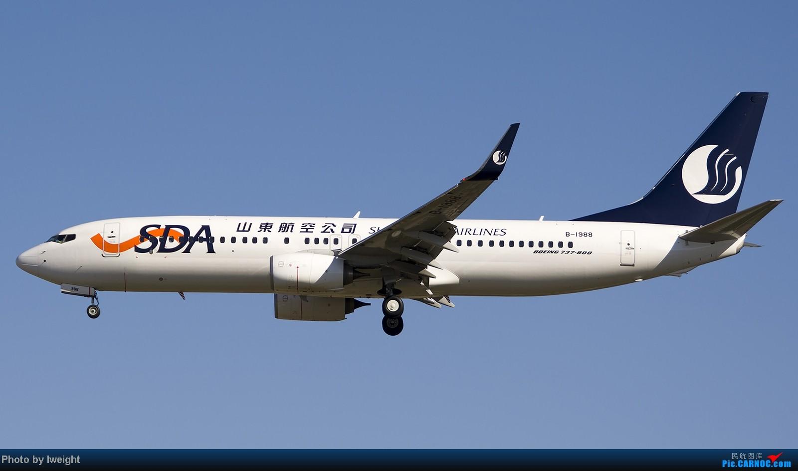 Re:[原创]终于盼来了晴天,PEK拍起【10月26日】 BOEING 737-800 B-1988 中国北京首都机场