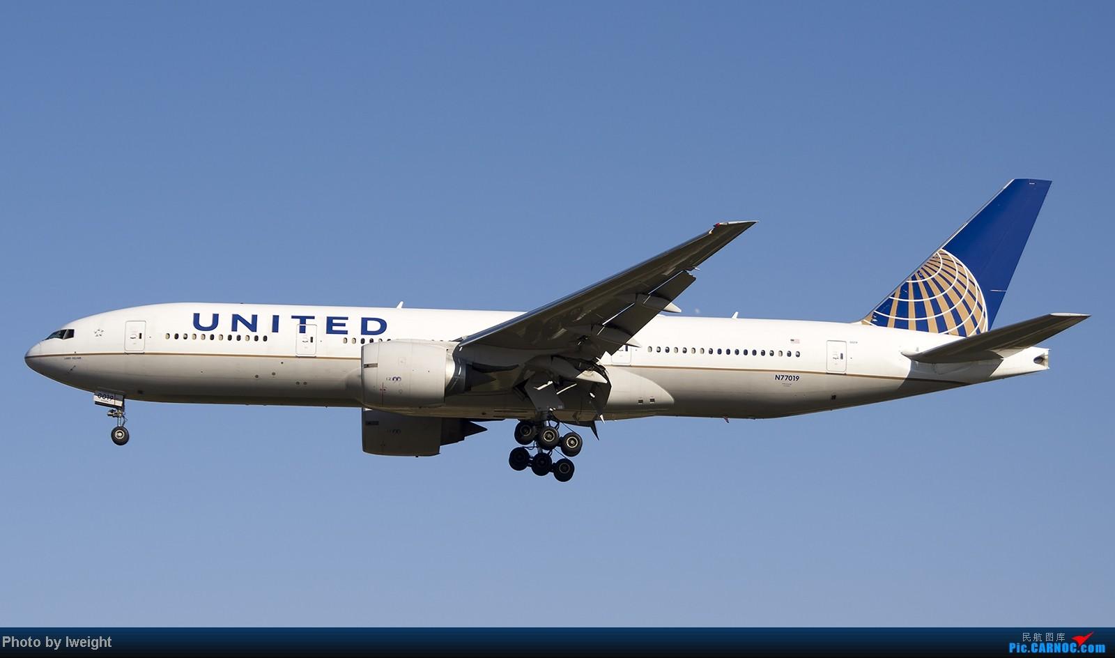 Re:[原创]终于盼来了晴天,PEK拍起【10月26日】 BOEING 777-200ER N77019 中国北京首都机场
