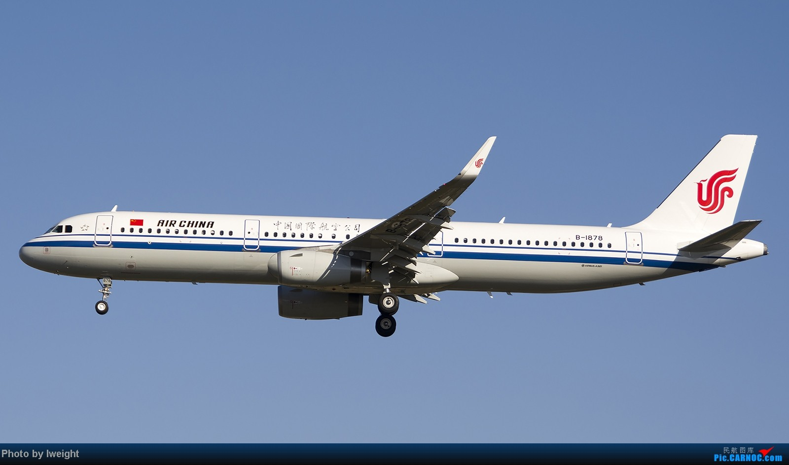 Re:[原创]终于盼来了晴天,PEK拍起【10月26日】 AIRBUS A321-200 B-1878 中国北京首都机场