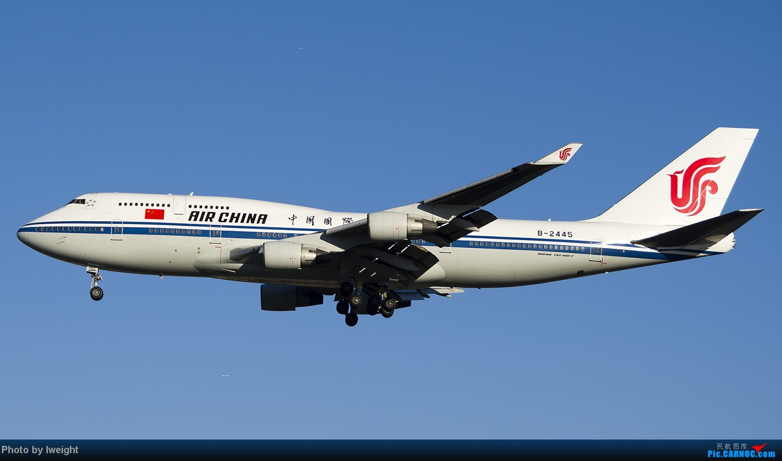 Re:[原创]终于盼来了晴天,PEK拍起【10月26日】 BOEING 747-400 B-2445 中国北京首都机场