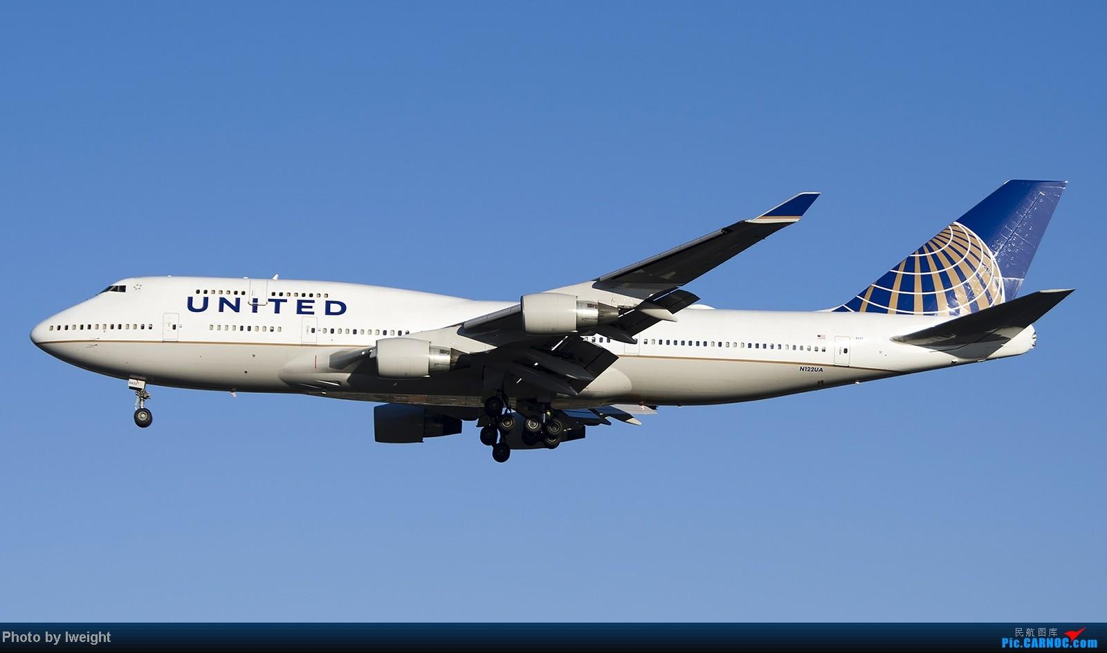 Re:[原创]终于盼来了晴天,PEK拍起【10月26日】 BOEING 747-400 N122UA 中国北京首都机场