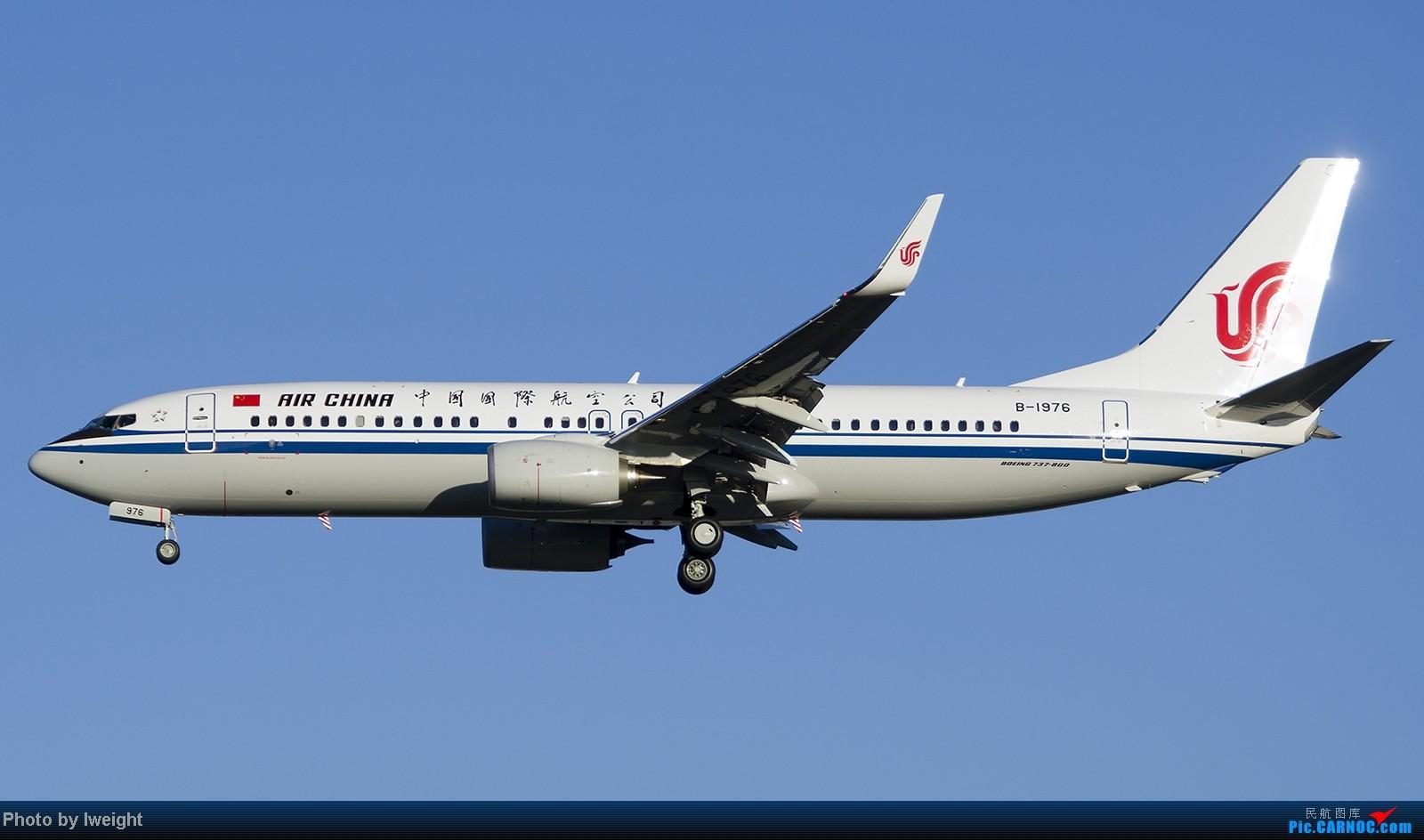 Re:[原创]终于盼来了晴天,PEK拍起【10月26日】 BOEING 737-800 B-1976 中国北京首都机场