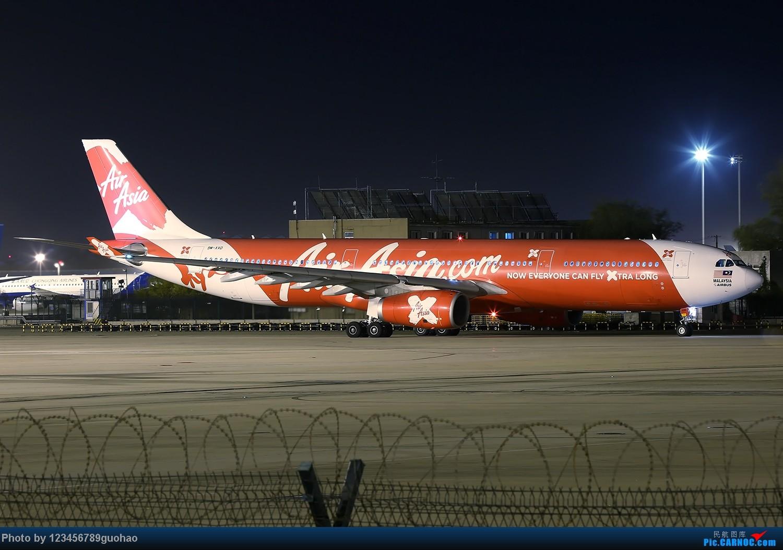 [原创]一图党-亚航9M-XXD夜景 AIRBUS A330-300 9M-XXD 北京首都机场