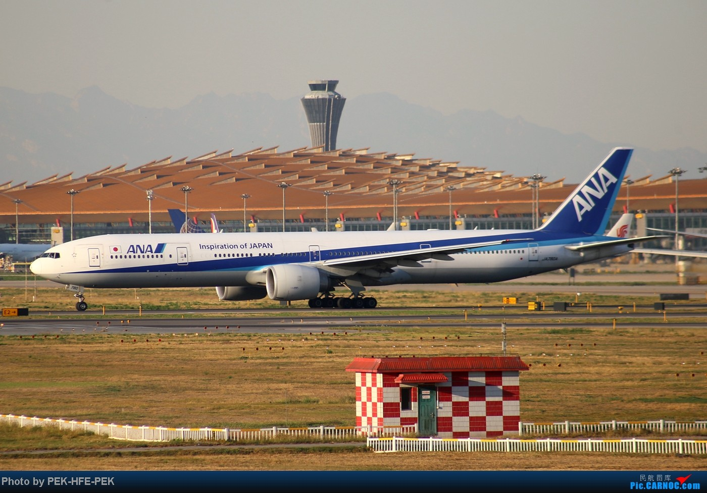 Re:[原创][AutumnKwok]趁apec假有时间把以前拍的图都发了~帝都巨好的天儿在八卦台拍的一组图    中国北京首都机场