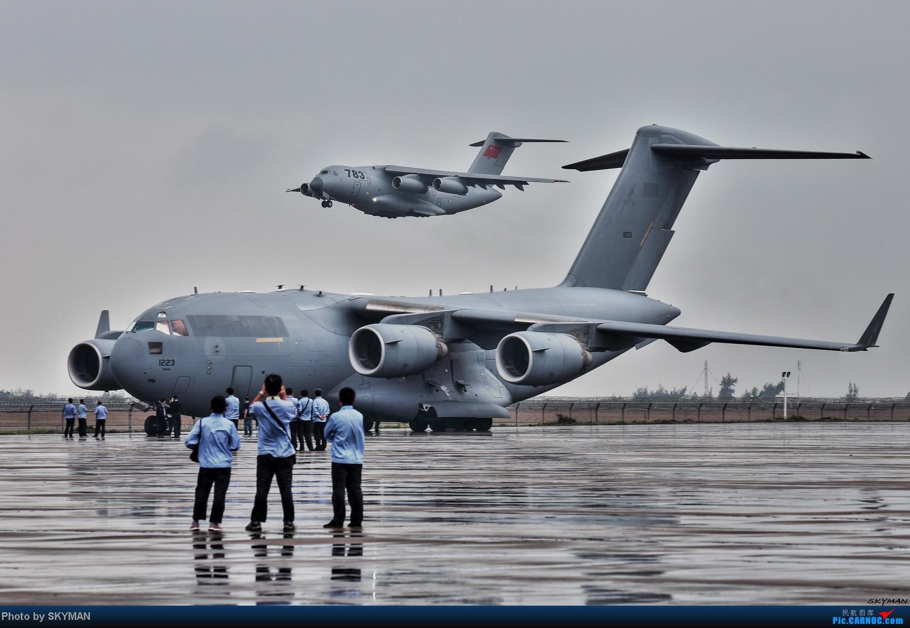 [原创]2014 珠展 展前随拍    中国珠海金湾机场