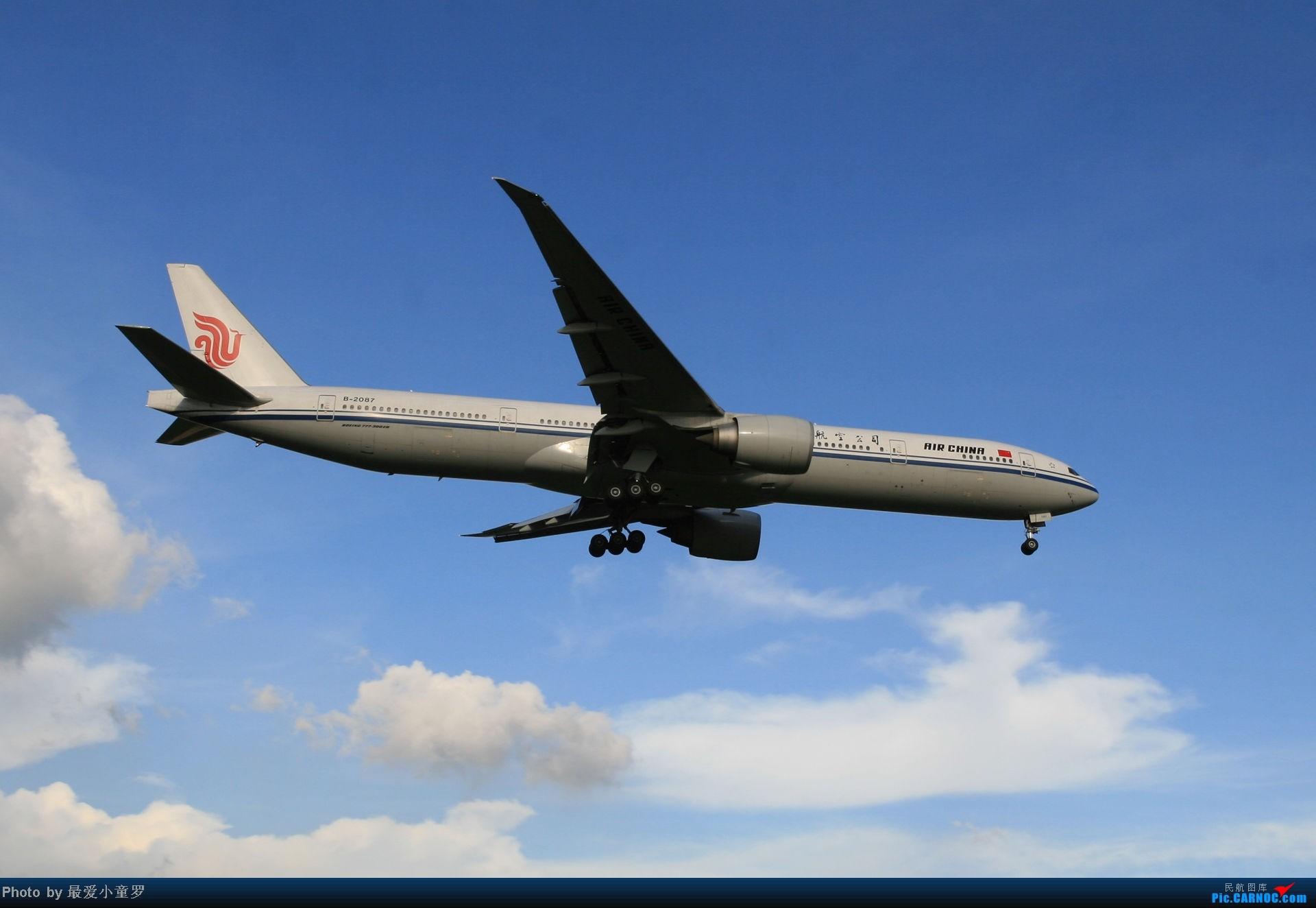 Re:[原创]2014年6月30日CAN东跑北区派出所拍机 BOEING 777-300ER B-2087 中国广州白云机场