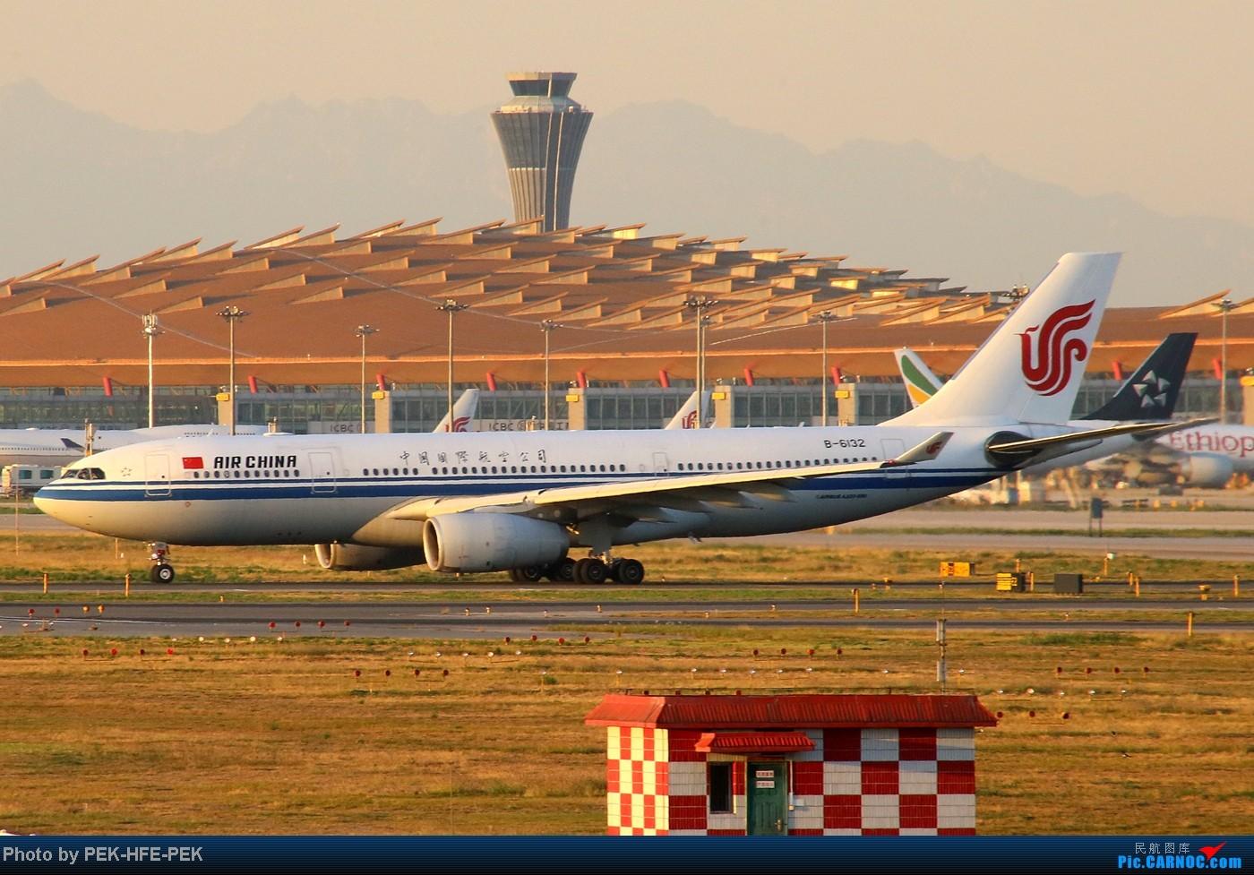 Re:[原创][AutumnKwok]趁apec假有时间把以前拍的图都发了~帝都巨好的天儿在八卦台拍的一组图 AIRBUS A330-200 B-6132