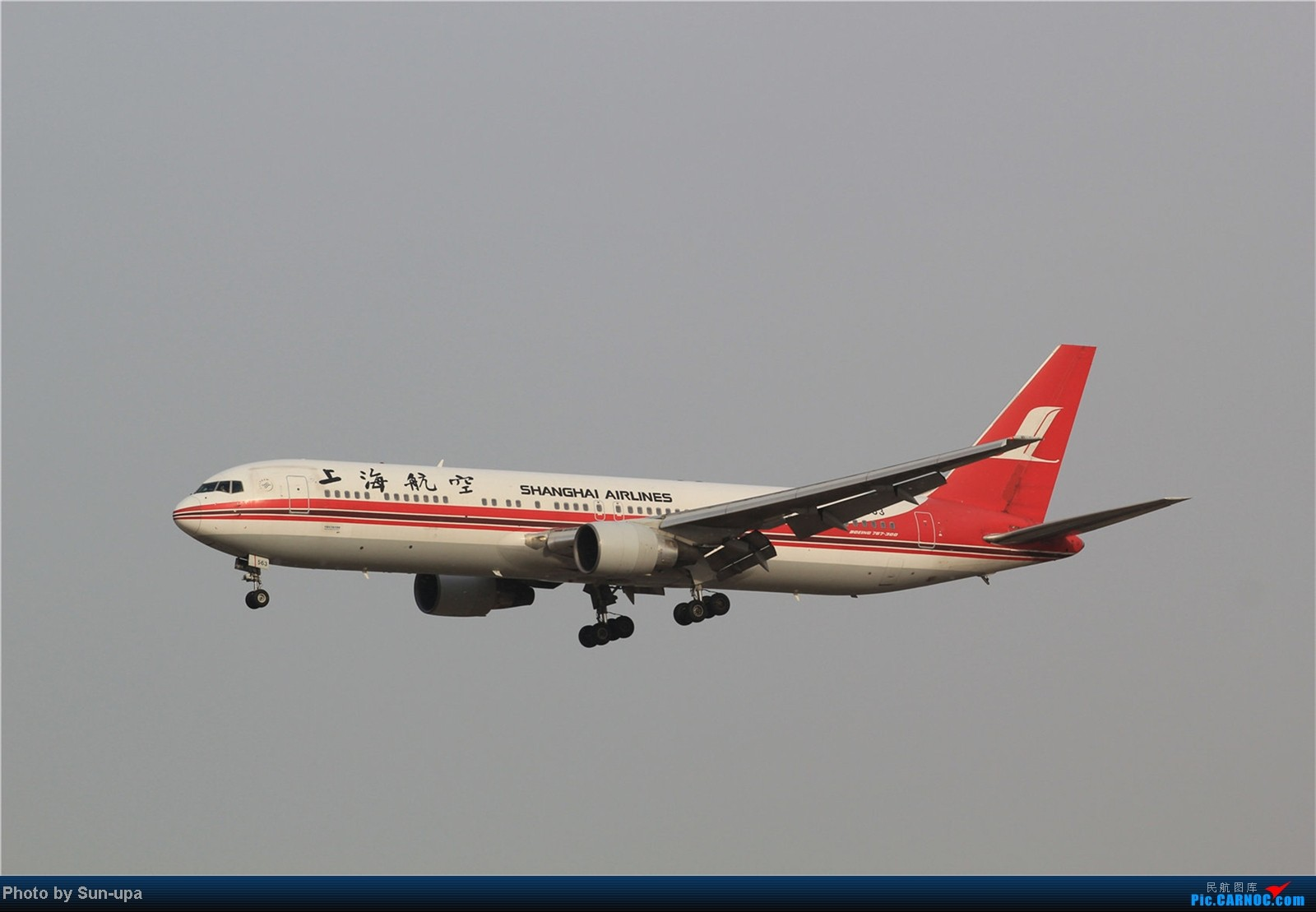 Re:[原创]【Sun-upa】老图新发 前段时间pek杂图+11.7机场内随拍 BOEING 767-300 B-2563 中国北京首都机场