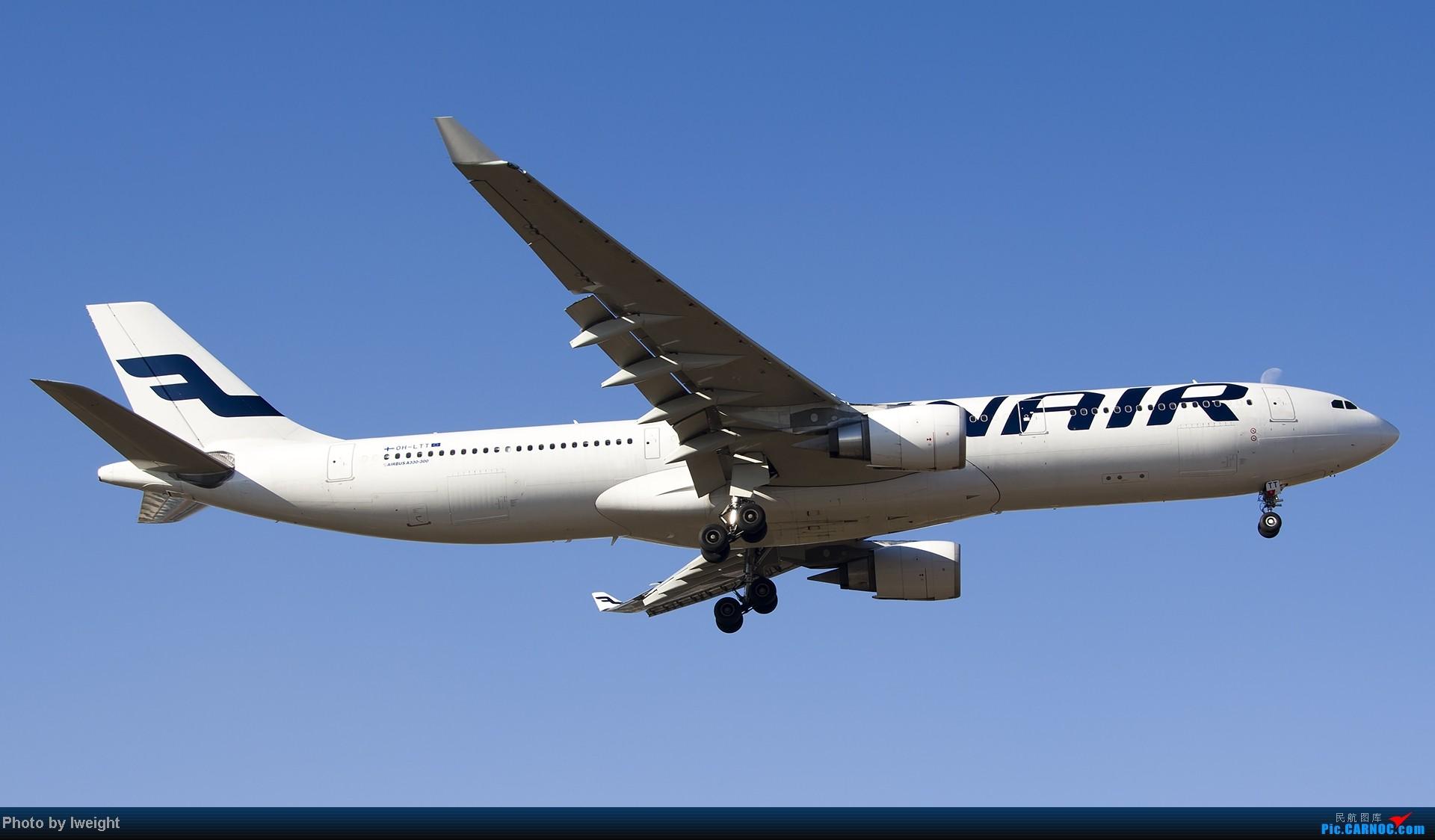 Re:[原创]抓住APEC蓝的尾巴,再拍上一组 AIRBUS A330-300 OH-LTT 中国北京首都机场