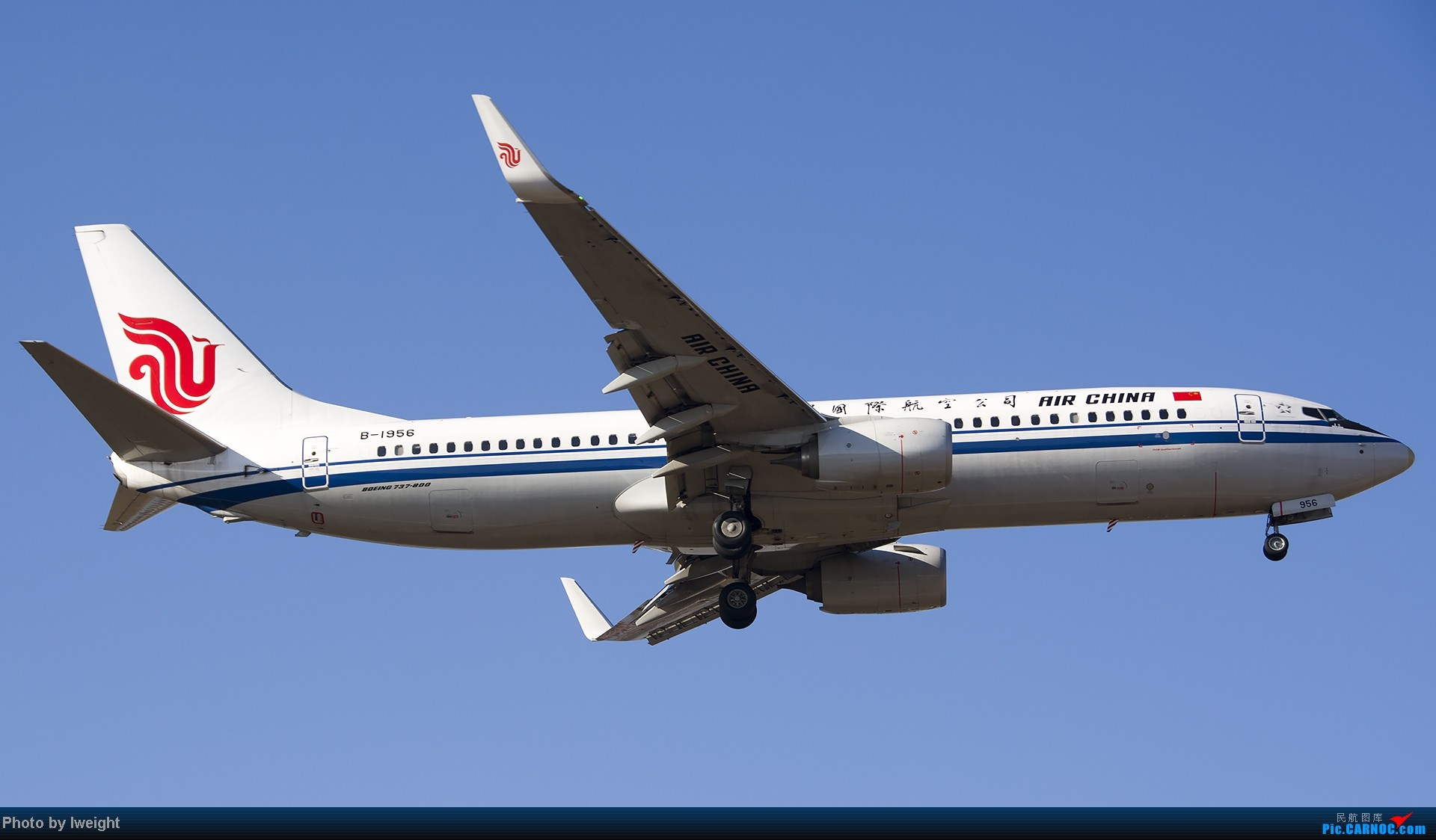 Re:[原创]抓住APEC蓝的尾巴,再拍上一组 BOEING 737-800 B-1956 中国北京首都机场