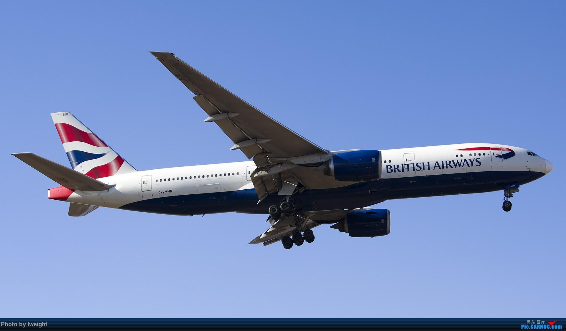 Re:[原创]抓住APEC蓝的尾巴,再拍上一组 BOEING 777-200ER G-YMMN 中国北京首都机场