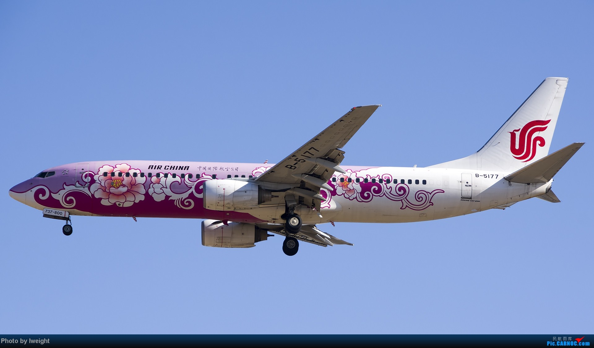 Re:[原创]抓住APEC蓝的尾巴,再拍上一组 BOEING 737-800 B-5177 中国北京首都机场