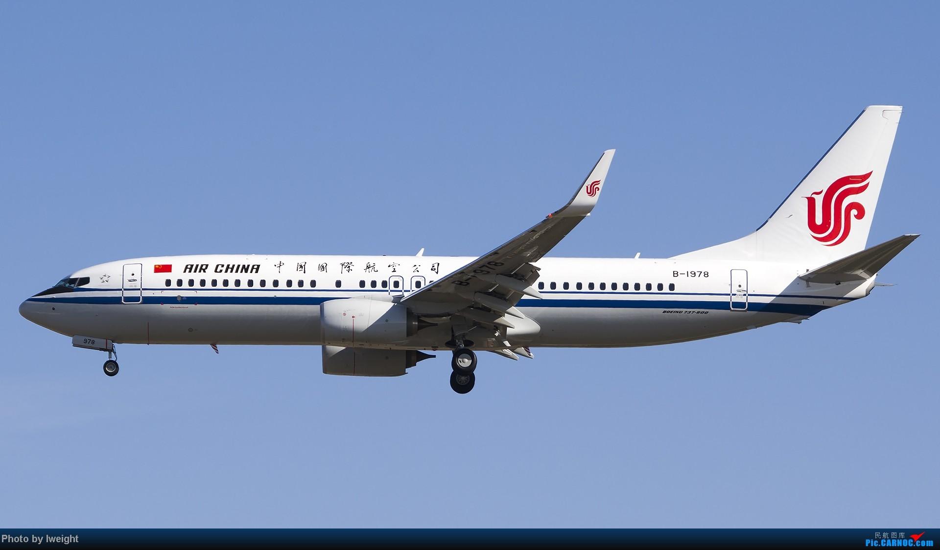 Re:[原创]抓住APEC蓝的尾巴,再拍上一组 BOEING 737-800 B-1978 中国北京首都机场