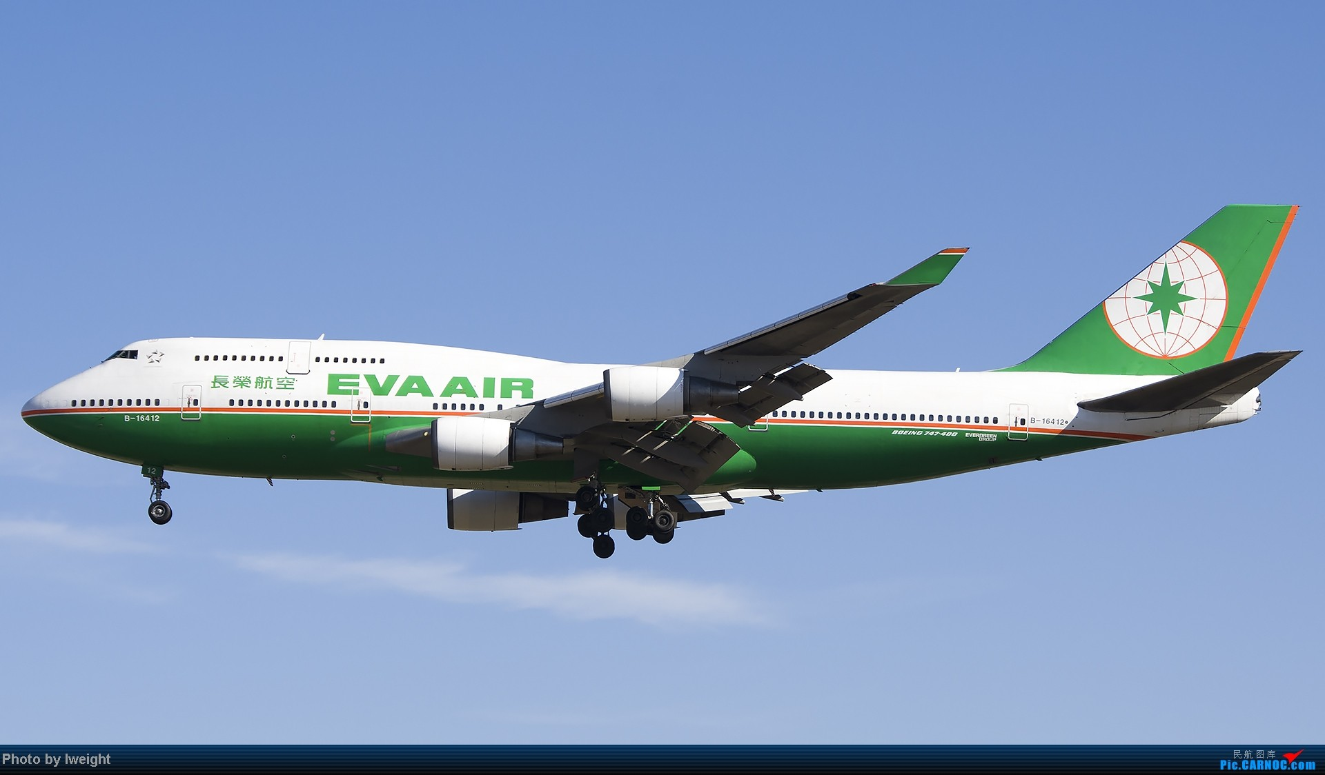 Re:[原创]抓住APEC蓝的尾巴,再拍上一组 BOEING 747-400 B-16412 中国北京首都机场