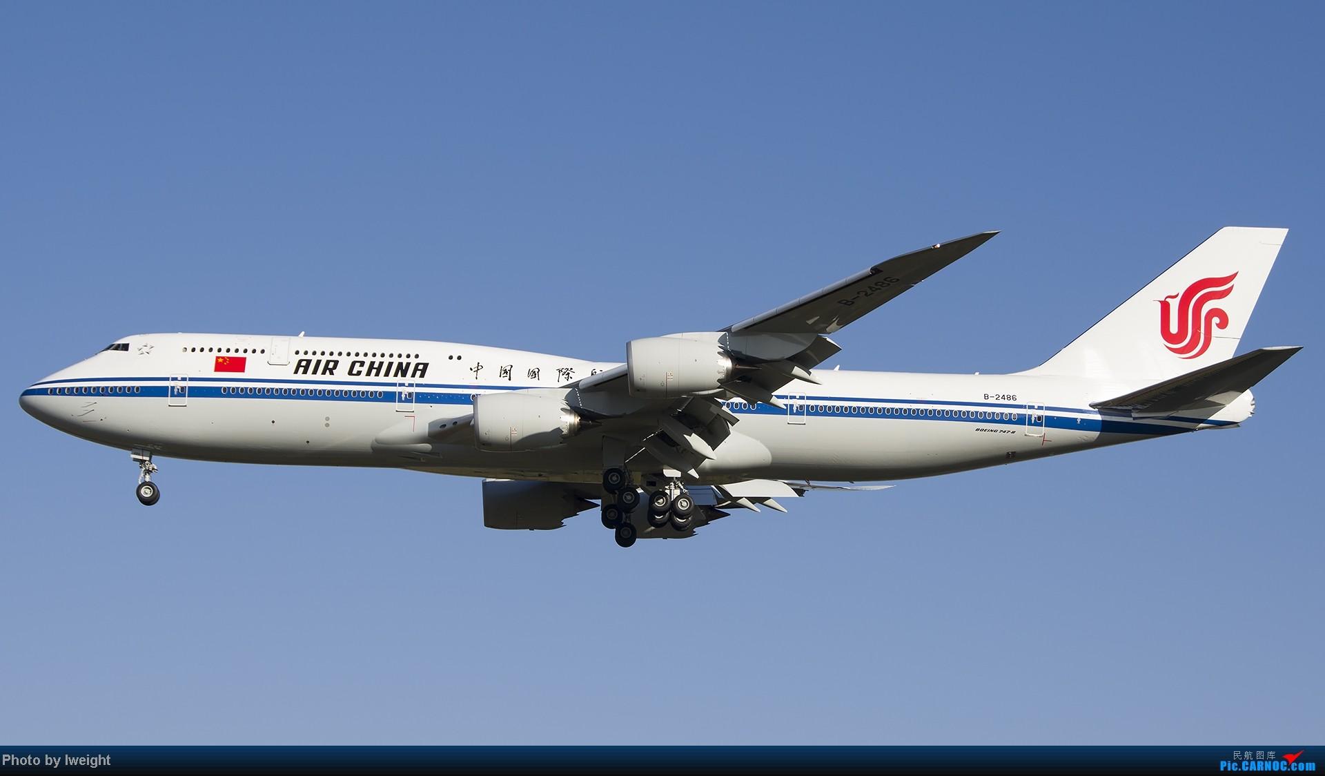 Re:[原创]抓住APEC蓝的尾巴,再拍上一组 BOEING 747-8I B-2486 中国北京首都机场