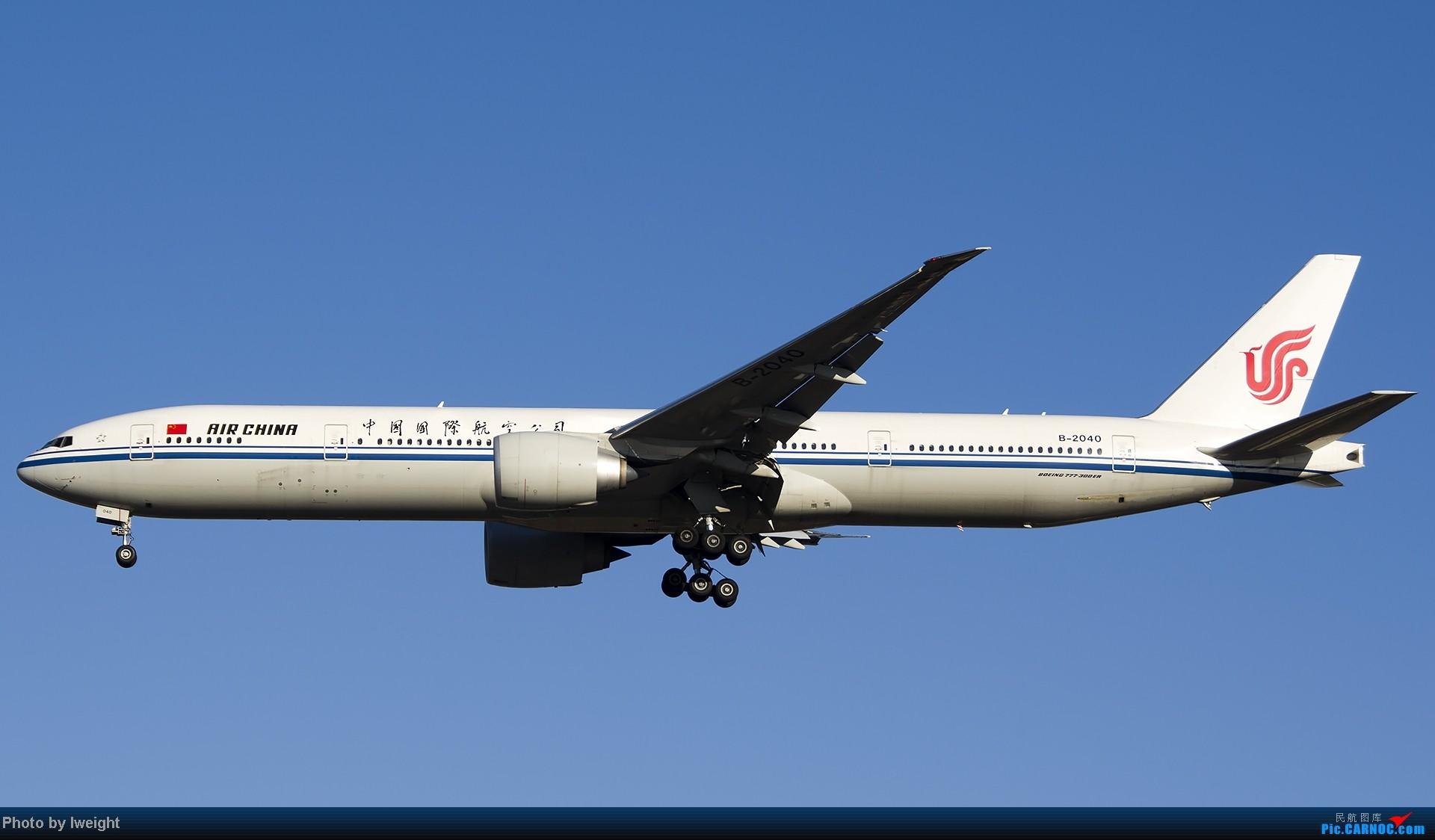 Re:[原创]抓住APEC蓝的尾巴,再拍上一组 BOEING 777-300ER B-2040 中国北京首都机场
