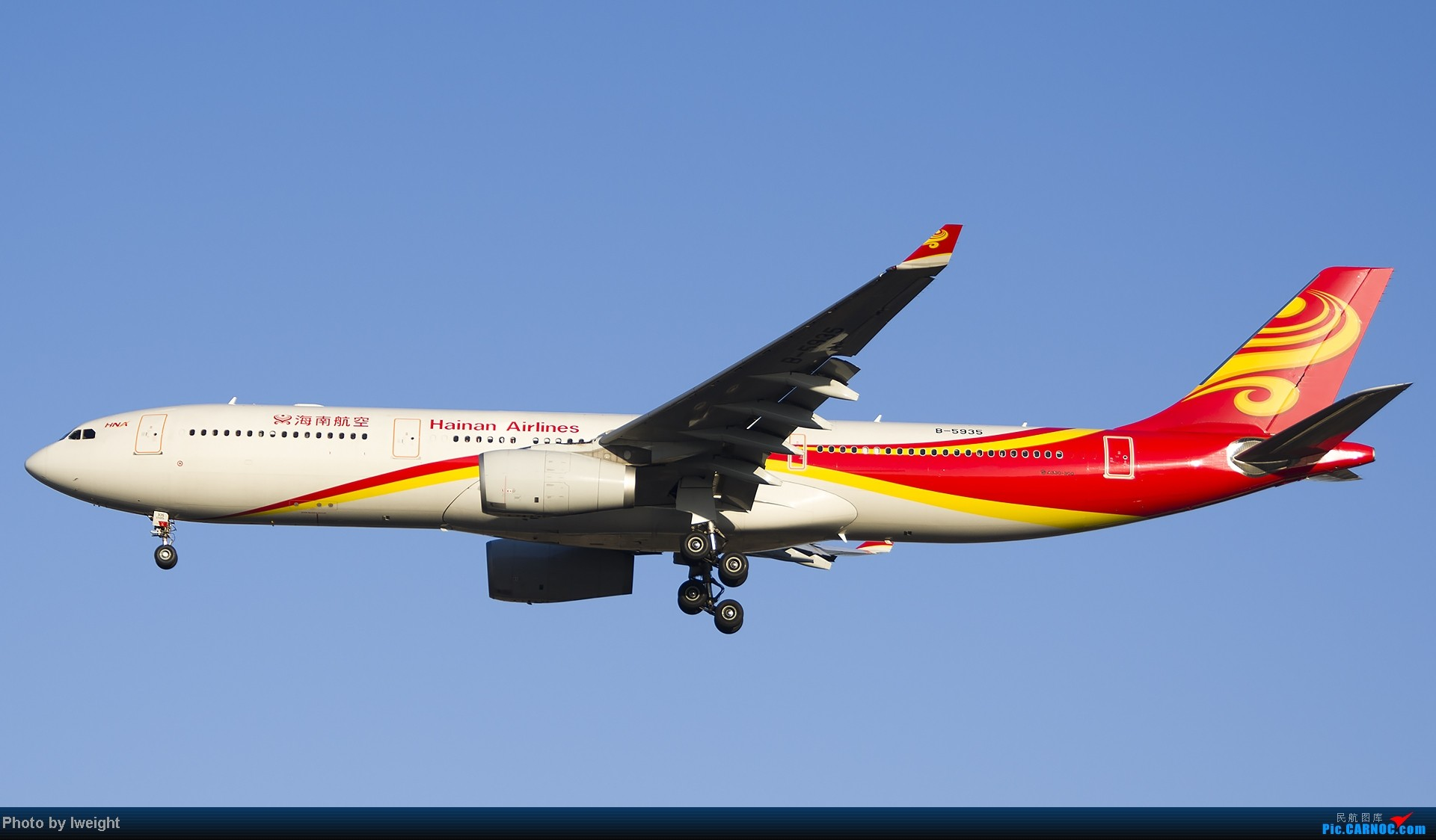 Re:[原创]抓住APEC蓝的尾巴,再拍上一组 AIRBUS A330-300 B-5935 中国北京首都机场