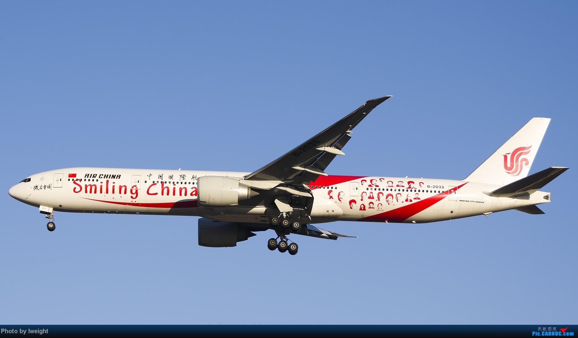 Re:[原创]抓住APEC蓝的尾巴,再拍上一组 BOEING 777-300ER B-2035 中国北京首都机场