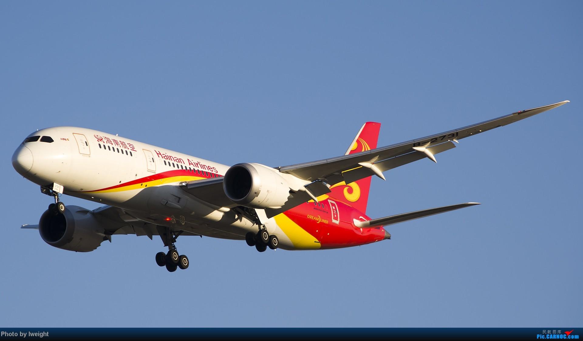 Re:[原创]抓住APEC蓝的尾巴,再拍上一组 BOEING 787-8 B-2731 中国北京首都机场