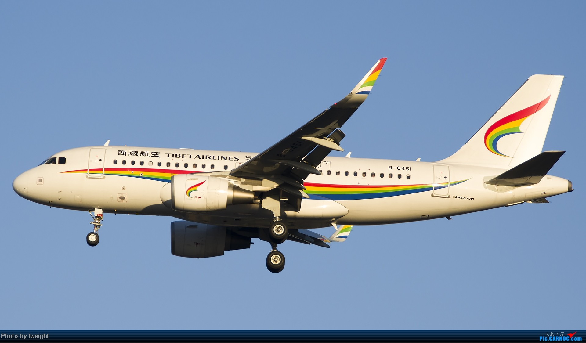 Re:[原创]抓住APEC蓝的尾巴,再拍上一组 AIRBUS A319-100 B-6451 中国北京首都机场