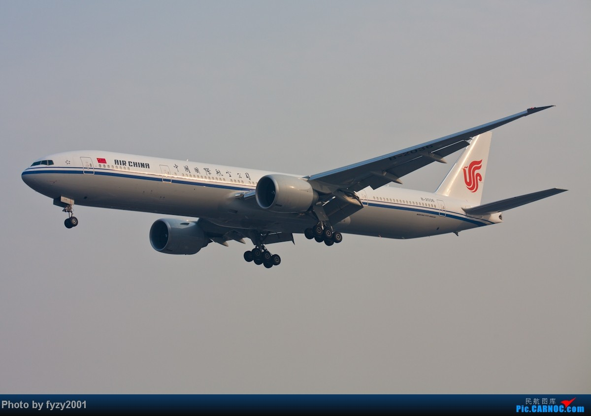 Re:[原创][无锡西站]在SHA拍到的20架国航77W BOEING 777-300ER B-2036 中国上海虹桥机场