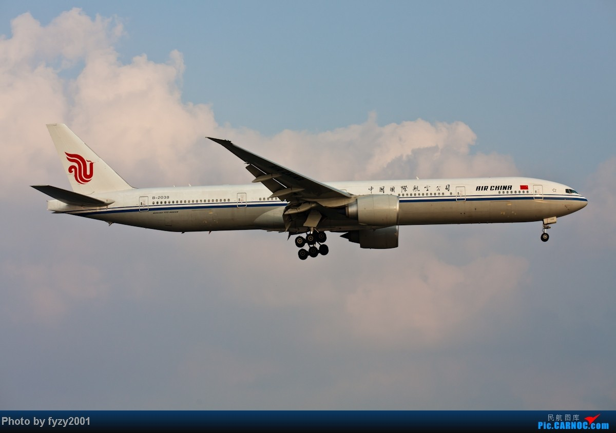 Re:[原创][无锡西站]在SHA拍到的20架国航77W BOEING 777-300ER B-2038 中国上海虹桥机场