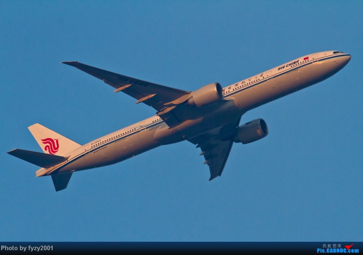 Re:[原创][无锡西站]在SHA拍到的20架国航77W BOEING 777-300ER B-2043 中国上海虹桥机场
