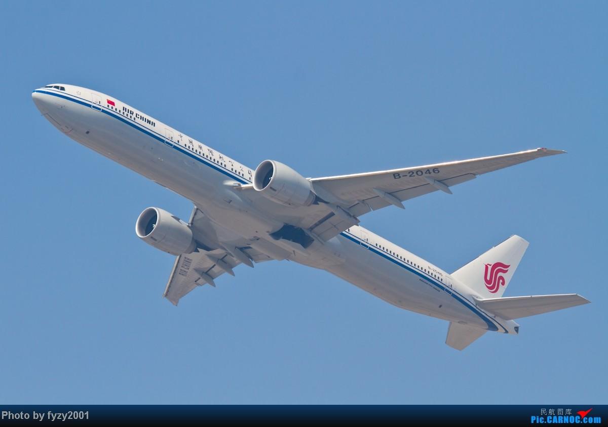 Re:[原创][无锡西站]在SHA拍到的20架国航77W BOEING 777-300ER B-2046 中国上海虹桥机场