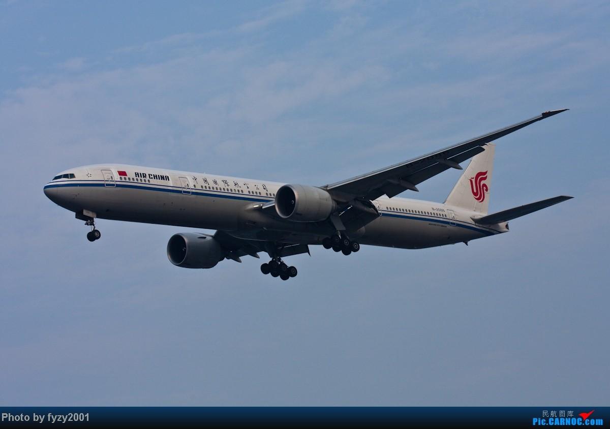 Re:[原创][无锡西站]在SHA拍到的20架国航77W BOEING 777-300ER B-2086 中国上海虹桥机场