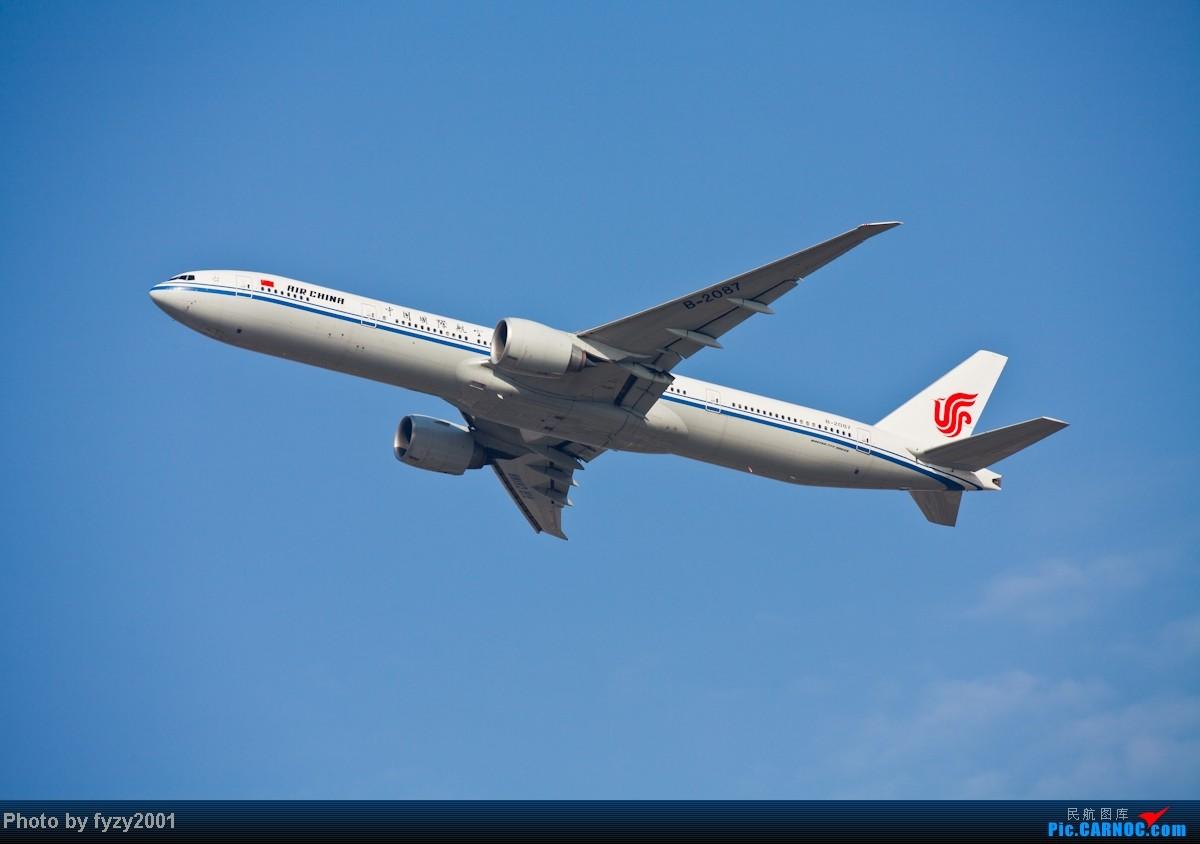 Re:[原创][无锡西站]在SHA拍到的20架国航77W BOEING 777-300ER B-2087 中国上海虹桥机场