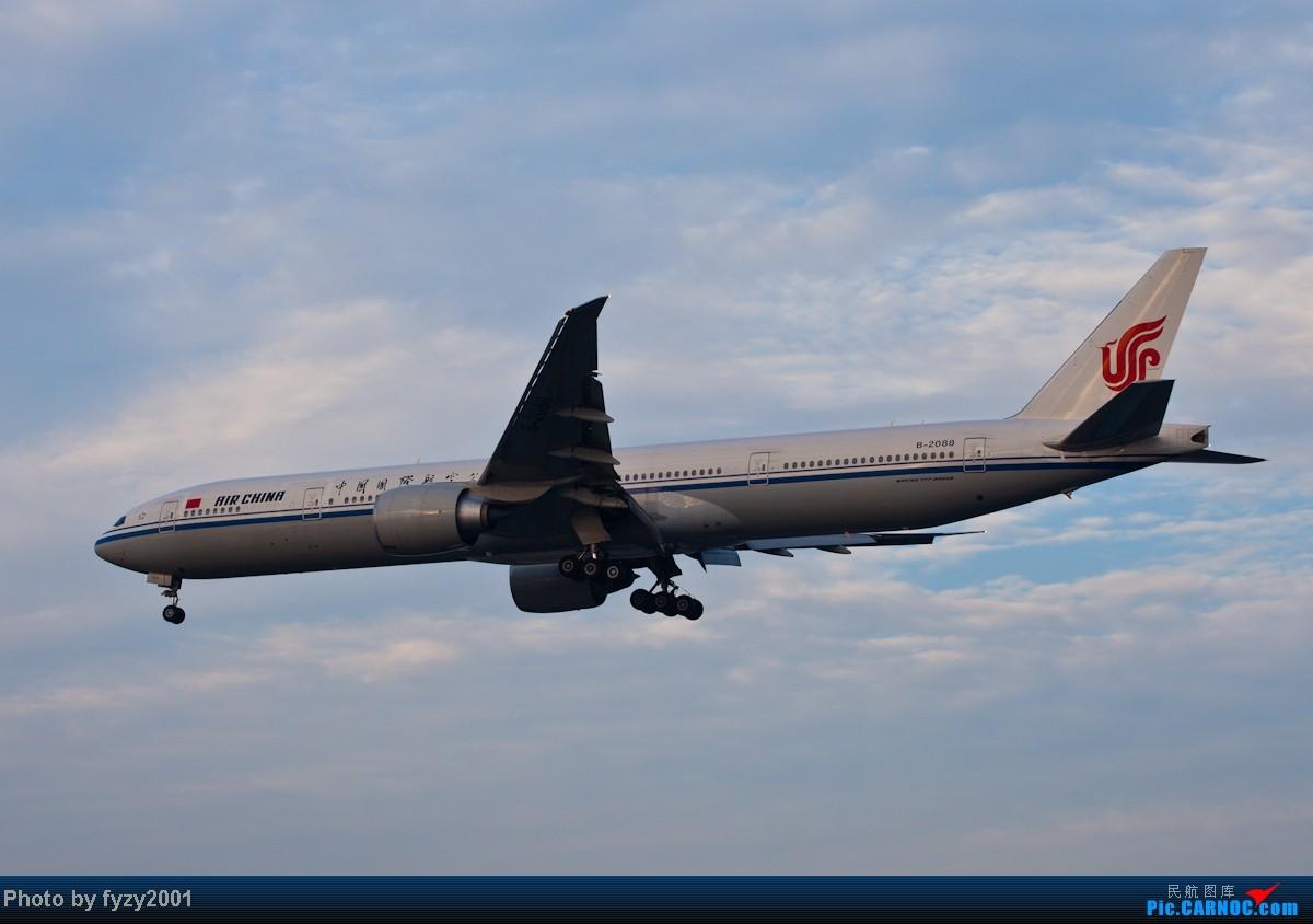 Re:[原创][无锡西站]在SHA拍到的20架国航77W BOEING 777-300ER B-2088 中国上海虹桥机场